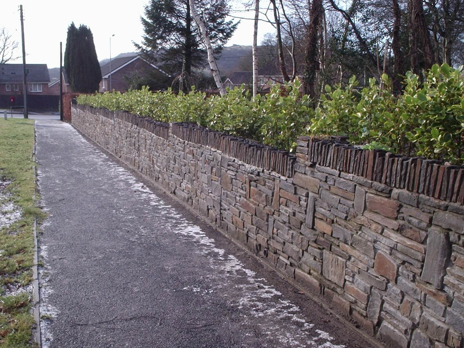 Semi-coursed Walling Stone
