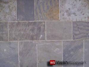 Blue Pennant Sandstone Block Paving