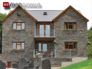 Blue Pennant  Stone Neath New Build