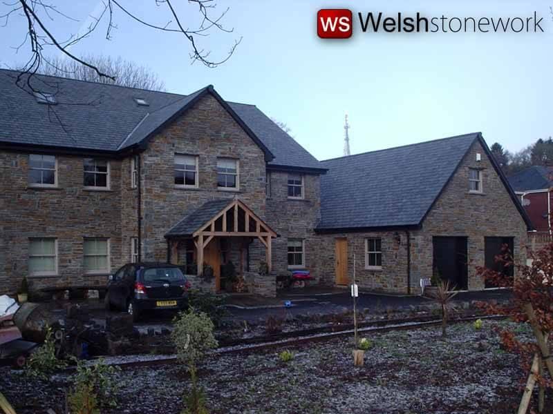 Landscape Garden Design Swansea : Hard landscaping welsh stone work neath swansea