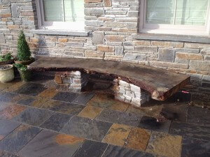 Swansea Patio Construction Blue Pennant flagstone